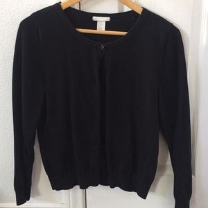 Black sweater from H&M